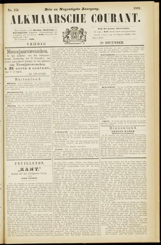 Alkmaarsche Courant 1891-12-18
