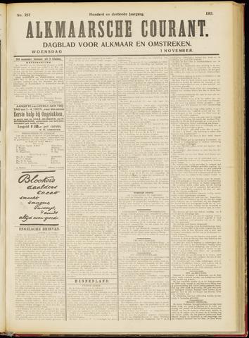 Alkmaarsche Courant 1911-11-01