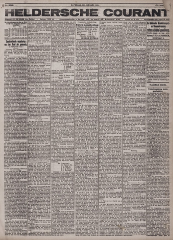 Heldersche Courant 1919-01-25