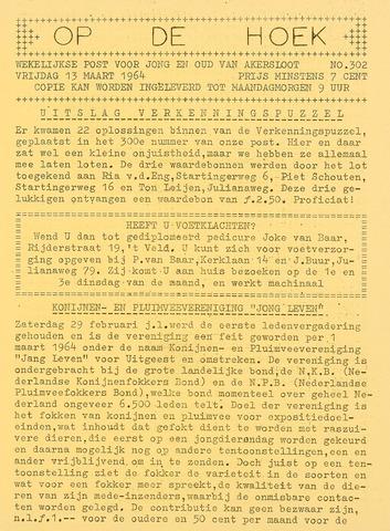 Op De Hoek, weekblad voor Akersloot 1964-03-13
