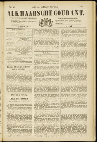 Alkmaarsche Courant 1886-06-11