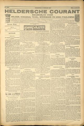 Heldersche Courant 1927-02-03
