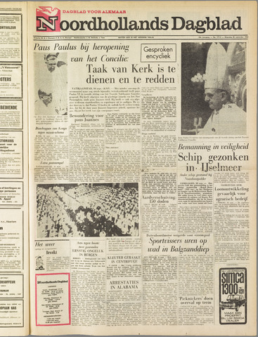 Noordhollands Dagblad : dagblad voor Alkmaar en omgeving 1963-09-30