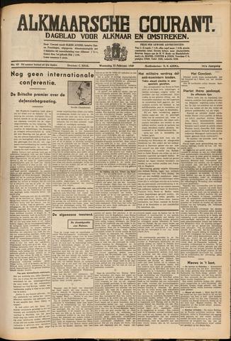Alkmaarsche Courant 1939-02-22