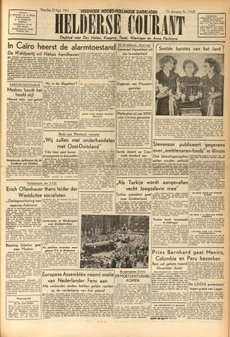 Heldersche Courant 1952-09-29