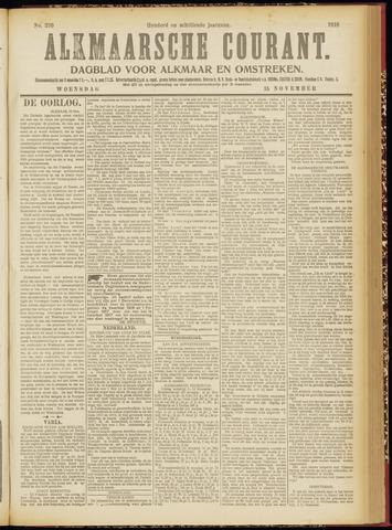 Alkmaarsche Courant 1916-11-15