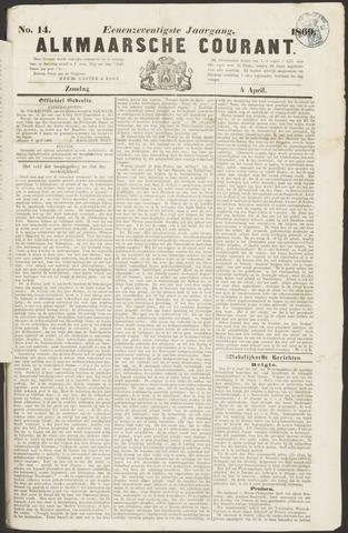 Alkmaarsche Courant 1869-04-04