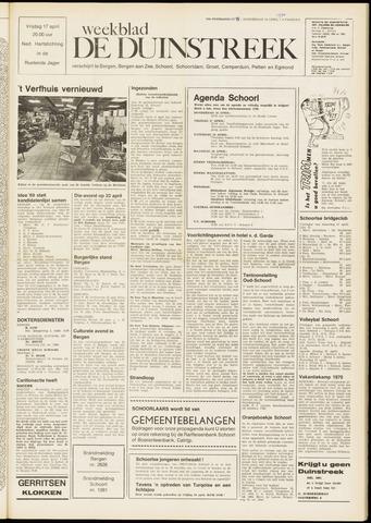 De Duinstreek 1970-04-16