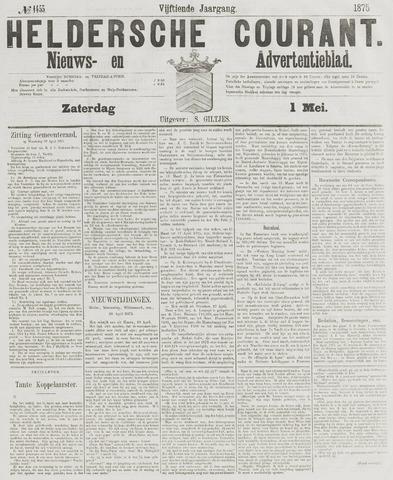 Heldersche Courant 1875-05-01