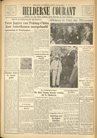 Heldersche Courant 1954-07-27