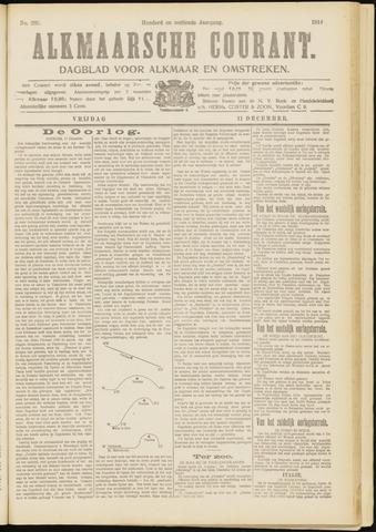 Alkmaarsche Courant 1914-12-11