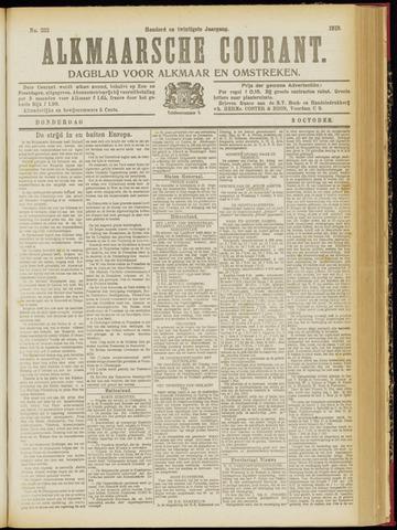 Alkmaarsche Courant 1918-10-03