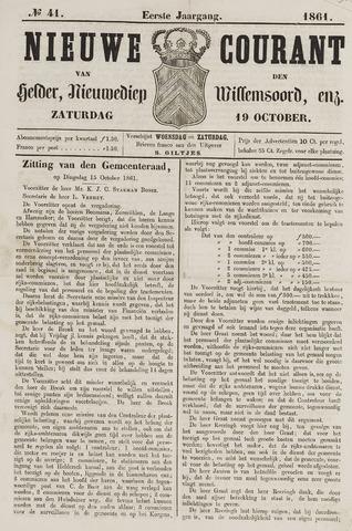 Nieuwe Courant van Den Helder 1861-10-19