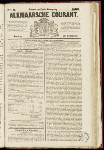 Alkmaarsche Courant 1860-02-26