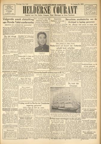 Heldersche Courant 1949-10-05