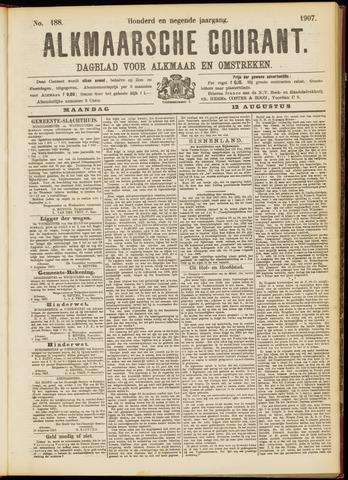 Alkmaarsche Courant 1907-08-12