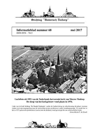 Informatieblad stichting Historisch Niedorp 2017