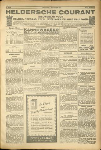 Heldersche Courant 1927-11-05