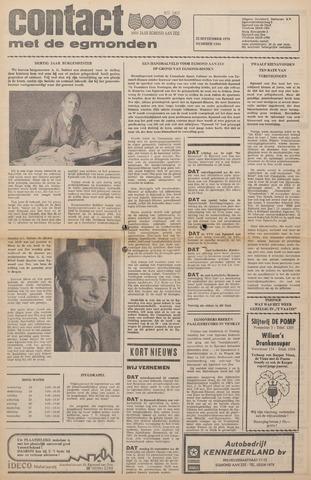 Contact met de Egmonden 1976-09-22