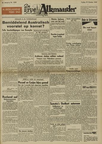 De Vrije Alkmaarder 1947-10-10