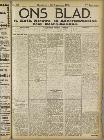Ons Blad : katholiek nieuwsblad voor N-H 1912-08-29