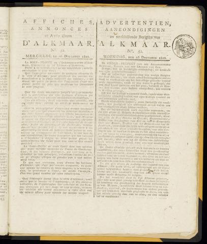 Alkmaarsche Courant 1812-12-16