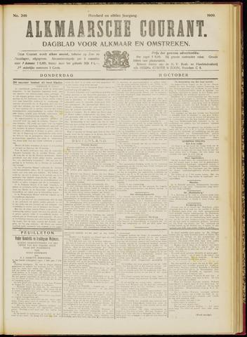 Alkmaarsche Courant 1909-10-21