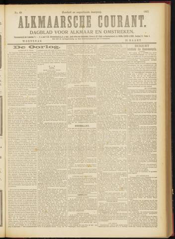 Alkmaarsche Courant 1917-03-21