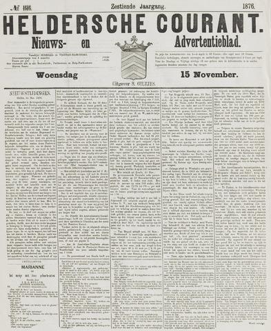 Heldersche Courant 1876-11-15