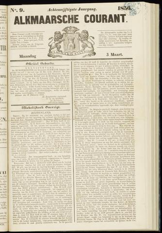 Alkmaarsche Courant 1856-03-03