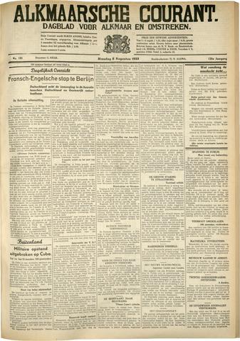 Alkmaarsche Courant 1933-08-08
