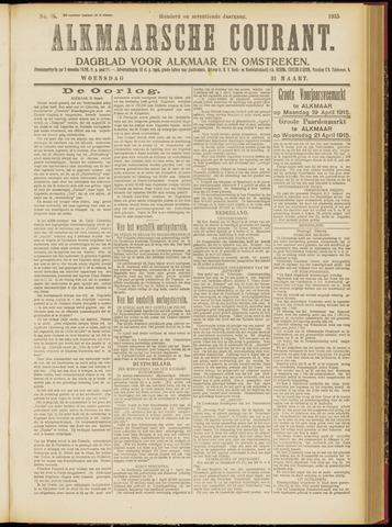 Alkmaarsche Courant 1915-03-31