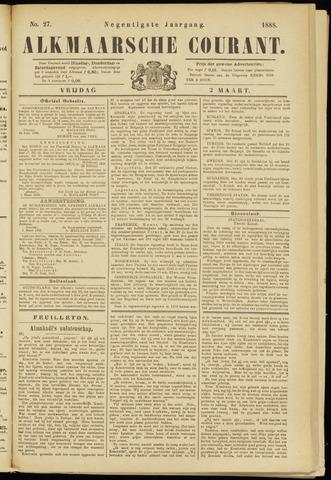 Alkmaarsche Courant 1888-03-02