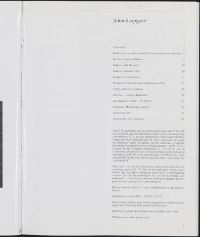 Jaarboek Oud Castricum 2002-11-01