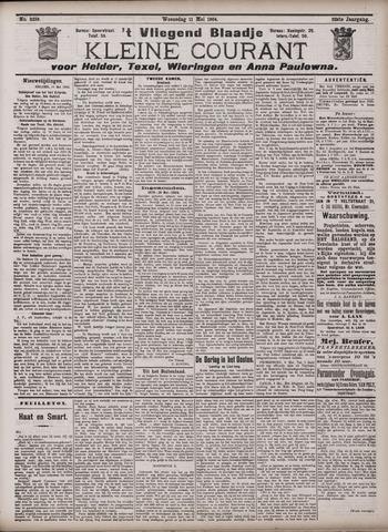 Vliegend blaadje : nieuws- en advertentiebode voor Den Helder 1904-05-11