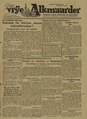 De Vrije Alkmaarder 1946-02-19