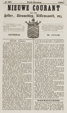 Nieuwe Courant van Den Helder 1864-07-16