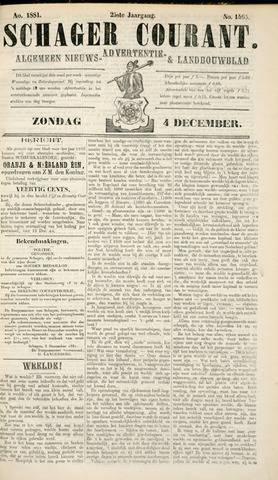 Schager Courant 1881-12-04