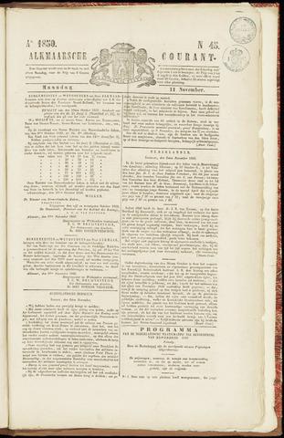 Alkmaarsche Courant 1850-11-11