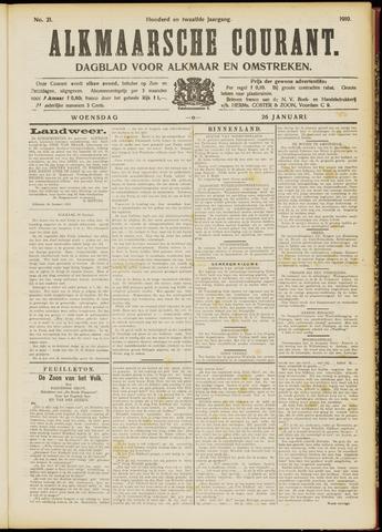 Alkmaarsche Courant 1910-01-26