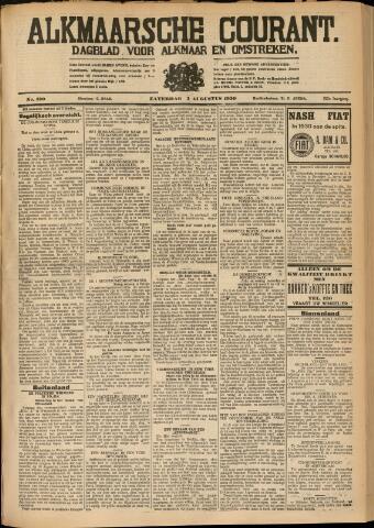 Alkmaarsche Courant 1930-08-02