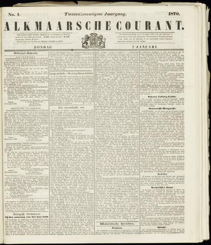Alkmaarsche Courant 1870-01-02