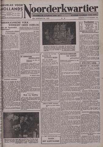 Dagblad voor Hollands Noorderkwartier 1941-11-18