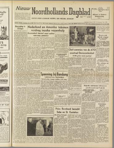 Nieuw Noordhollandsch Dagblad : voor Alkmaar en omgeving 1950-01-28