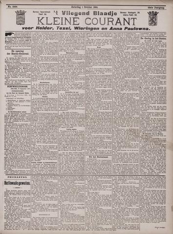 Vliegend blaadje : nieuws- en advertentiebode voor Den Helder 1904-10-01