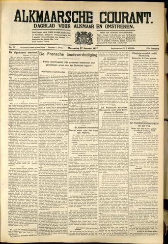 Alkmaarsche Courant 1937-01-27