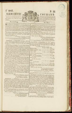 Alkmaarsche Courant 1847-05-31