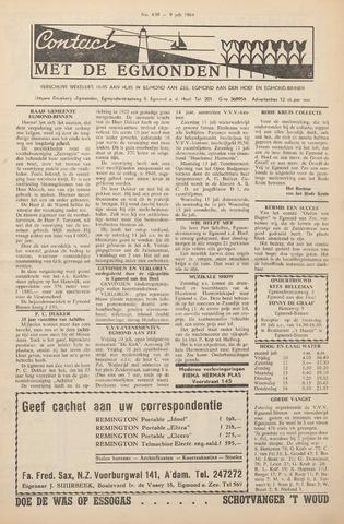 Contact met de Egmonden 1964-07-09