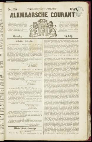 Alkmaarsche Courant 1857-07-13