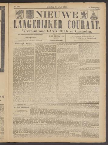Nieuwe Langedijker Courant 1898-07-24